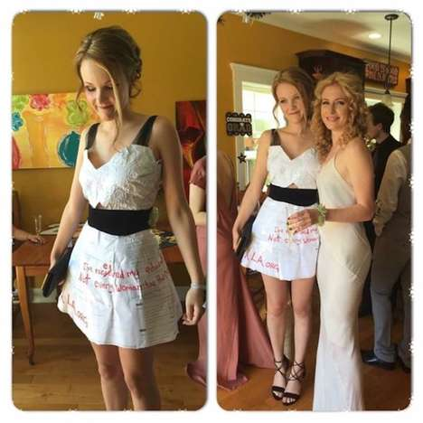 Education Awareness Dresses