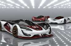 Extreme Concept Hypercars - The Tomahawk VGT Will Rip It Up in the Vision Gran Turismo Video Game