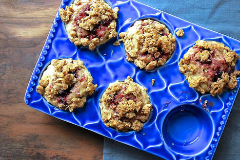 Nutty Streusel Muffins