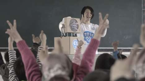 Educational Air-Purifying Kits - Volkswagen Teaches Students in China to Create a DIY Air Filter