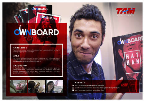 Personalized Inflight Magazines - TAM Airlines Created Customized Reading Material for Travelers