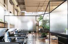Shrouded Salon Interiors