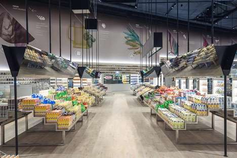 Futuristic Grocer Concepts - Carlo Ratti Associati Imagines the Future of Supermarkets as Digital