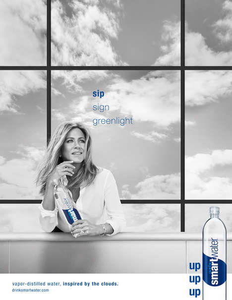 Elegant Water Print Ads