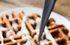 Carrot Cake Waffles - These Carrot Cake Waffles are a High-Protein Hybrid