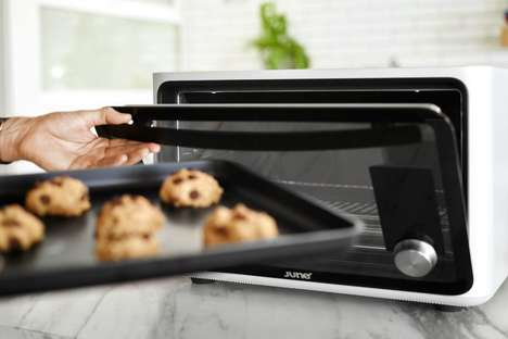 App-Controlled Ovens - The 'June Intelligent Oven' is a Countertop Appliance for Small Spaces