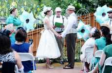 Italian Carnival Weddings - This Vintage Wedding Theme Features Interactive Games and Charming Decor