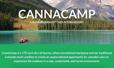 Cannabis-Friendly Resorts - 'Cannacamp' is a New Colorado Ranch Where Guests Can Bring in Marijuana