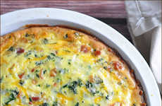 Kale Quiche Recipes - Very Culinary's Healthy Breakfast Recipe is a Fresh Twist on a Morning Classic
