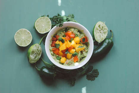 Mango Guacamole Recipes - This Summery Mexican Appetizer is a Tasty Twist on a Popular Snack