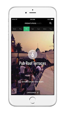 City-Specific Nightlife Apps
