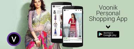 Multi-Store Shopping Apps - The 'Voonik' App Combines Multiple Stores on a Single Shopping Platform