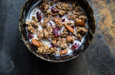 Wholesome Granola Breakfasts - This Cranberry Granola Recipe is a Healthy Morning Treat