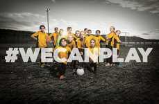 Female Football Campaigns - This Campaign Aims to Promote Female Football & Increase Youth Interest
