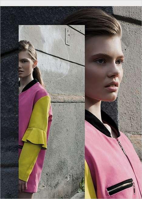 Split-Screen Fashion Editorials
