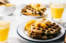 Crispy Superfood Waffles