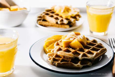 Crispy Superfood Waffles