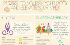 New Age Guides - This Stress Relief Infographic Focuses on Alternative Solutions to Feeling Better