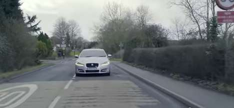 Pothole-Detecting Cars - The Jaguar Land Rover Pothole Alert System Will Detect & Share Road Blocks