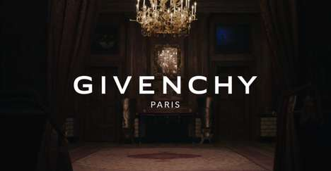 Sporty Couture Campaigns - The Givenchy FW Campaign Features Famous Models on BMX Bikes