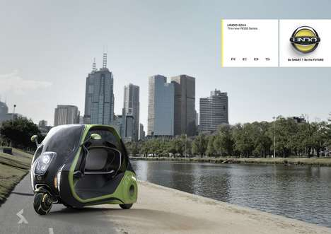 Three-Wheeled Electric Taxis - The 'Lindo' May Be a More Eco-Friendly Taxi Option for City Dwellers