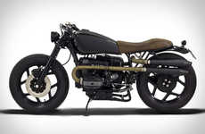Respectfully Modernized Motorbikes - The Ton-Up BMW R80 Indira Motorcycle Maintains Original Spirit