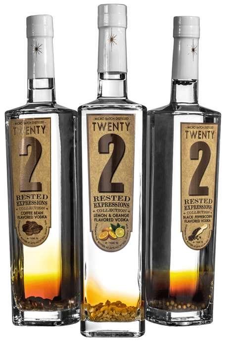 Artisanal Vodka Flavors - Twenty2 Vodka's Newest Flavored Vodka Line Honors Authentic Ingredients