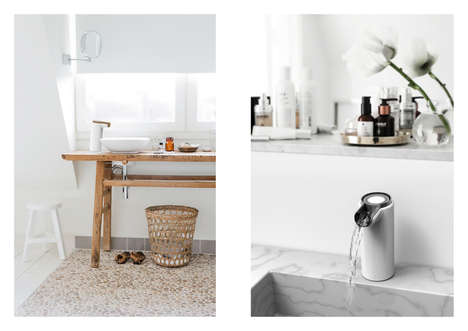 Germ Magnifying Faucets : digital