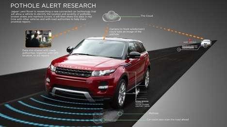 Pothole-Detecting Car Systems