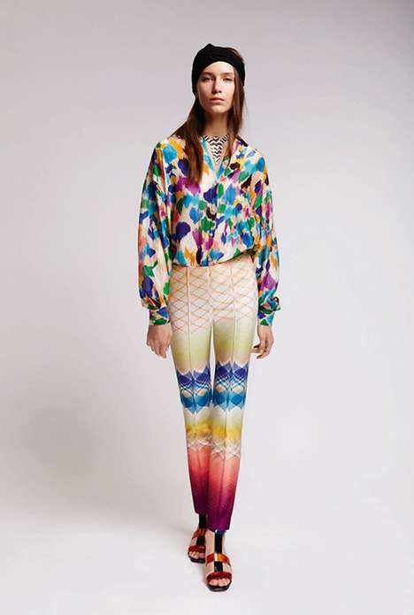 Eclectically Printed Fashion
