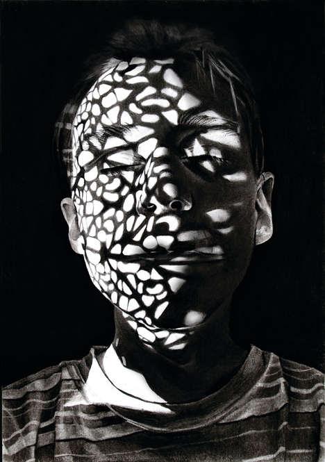 Shocking Shadow Portraits