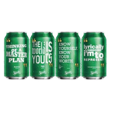 Hip-Hop Soda Labels