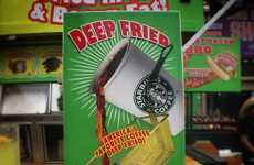 Carnival Coffee Treats - These Deep Fried Starbucks Desserts are a Sweet Edible Caffeine Fix