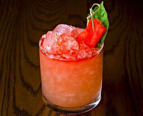 Savory Mushroom Cocktails