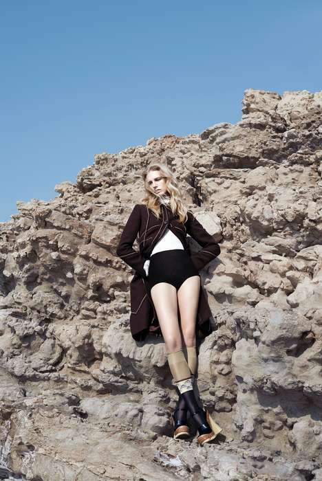 Couture Cliff Photoshoots