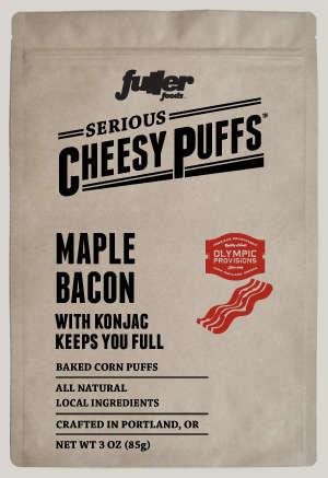 Maple Bacon Cheese Puffs