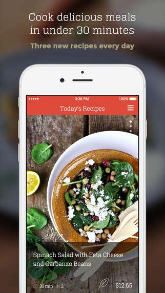 Quick Recipe Apps