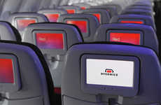 Improved In-Flight Entertainment - Virgin America Will Install Surround Sound on Planes Via Dysonics