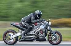 Record-Breaking Turbine Motorcycles - This Motorbike Holds Three New Official World Records