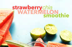 Refreshing Watermelon Smoothies - This Sweet Smoothie Recipe Combines Watermelon and Strawberries