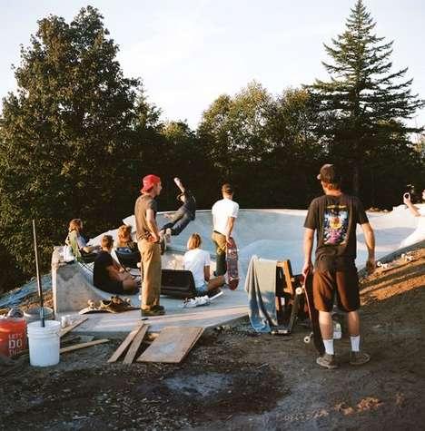 Skate Bowl Treehouses