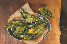 Spicy Kale Chips - These Curried Coconut Kale Chips Make the Perfect Superfood Snack