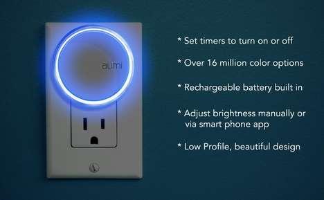 App-Controlled Night Lights