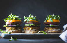 Mint-Infused Veggie Burgers