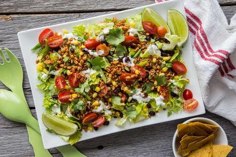 Meatless Taco Salads