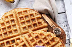Grain-Free Yogurt Waffles - Minimalist Baker's Waffle Recipe is Unconventional and Healthy