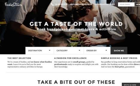 Specialized Culinary Tours - This Online Platform Allows Travelers to Book Unique Gastronomic Tours
