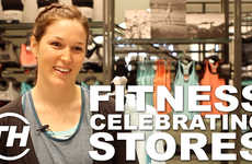 Fitness-Celebrating Stores - Spencer O'Brien Helps Open the Nike Women Concept Store in Toronto