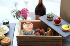 Upscale Dessert Tastings - Langham Hotel's Modern Afternoon Tea Celebrates 150 Years of the Hotel