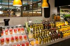 Smoothie Bar Concepts - This Juice Bar Reduces Fruit Waste in This Stockholm Supermarket